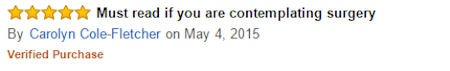 Amazon 5* Star Review