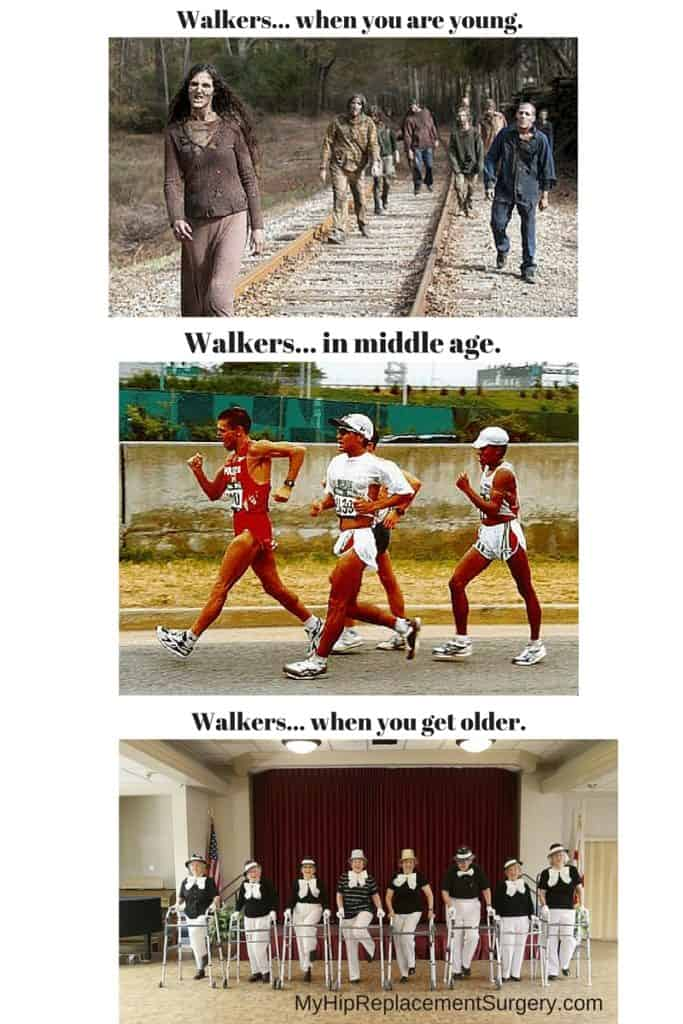 walkers through the ages